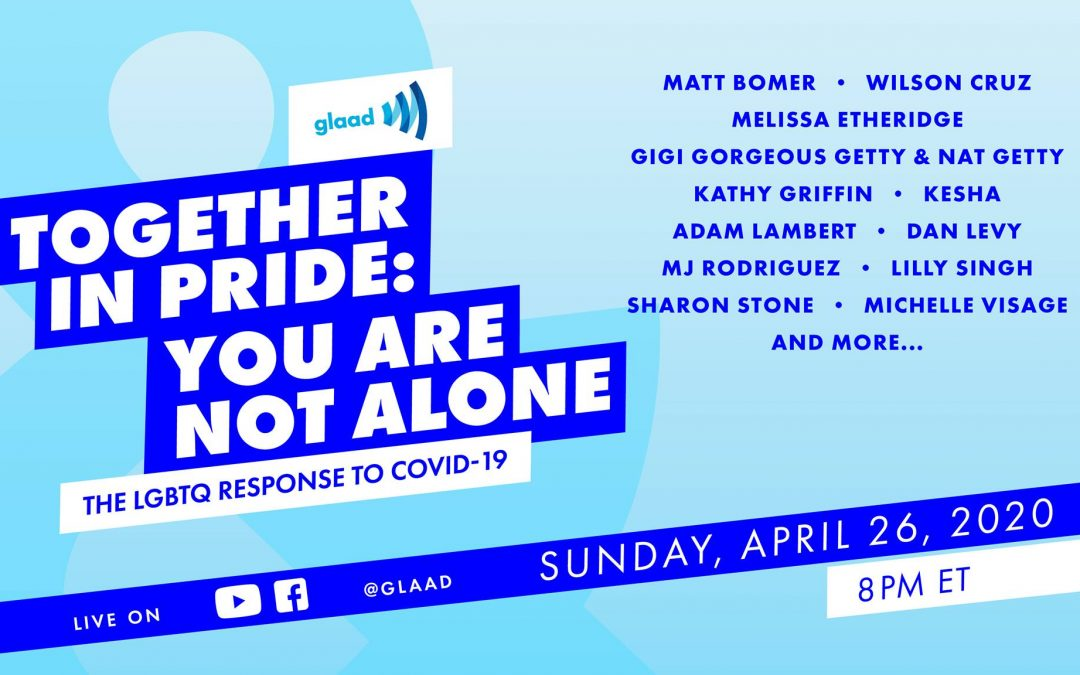 GLAAD Hosts Telethon to Support LGBTQ+ Community Centers Across US