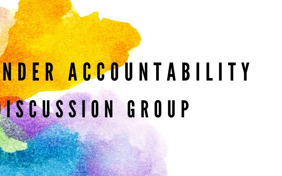 Cisgender Accountability Discussion Group (New 3 Part Series)