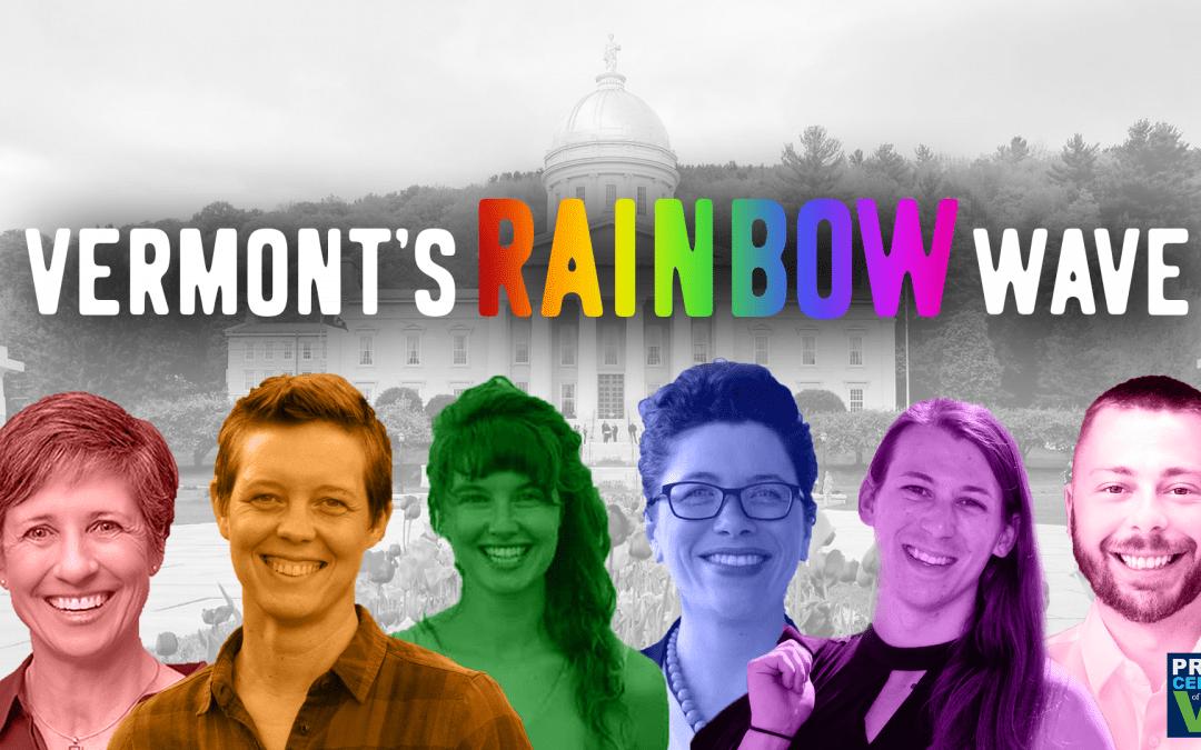 Vermont's Rainbow Wave