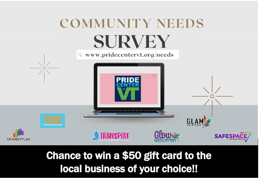 Pride Center of Vermont's 2021 Community Needs Survey