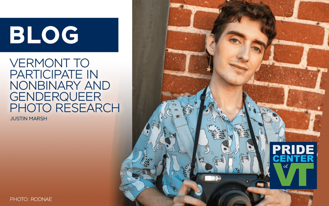 Vermont to Participate in Nonbinary and Genderqueer Photo Research